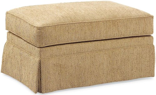 Fairfield 3736 Skirted Ottoman
