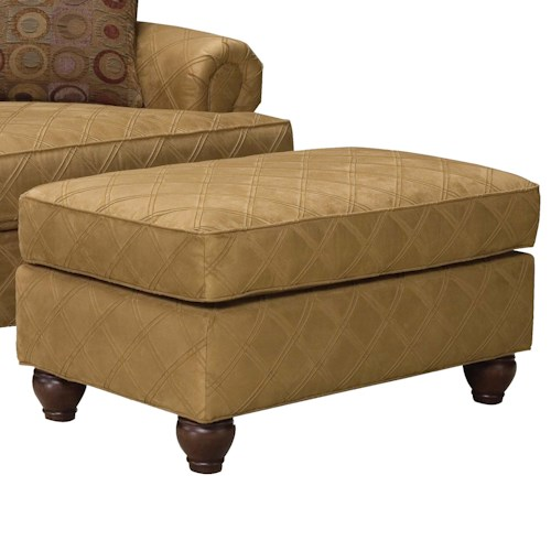 Fairfield 3738 Traditional Wide Ottoman