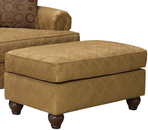 Grove Park 3738 Traditional Wide Ottoman
