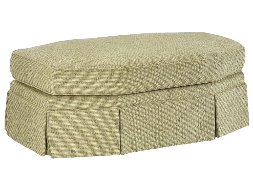 Fairfield 3766Eight-Sided Oval Ottoman