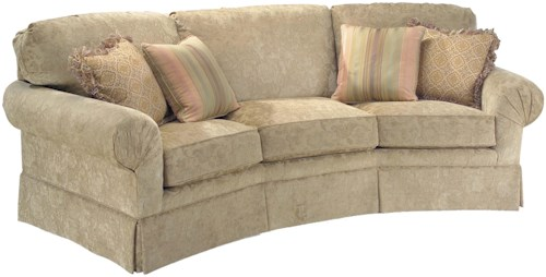 Fairfield 3766 Corner Sofa with Sea Shell Pleats