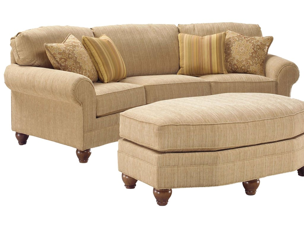 Fairfield 3768Curved Sofa