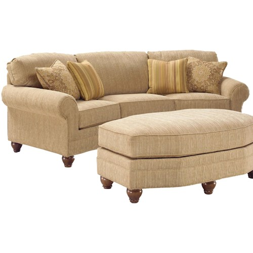 Fairfield 3768 Curved Arch Sofa