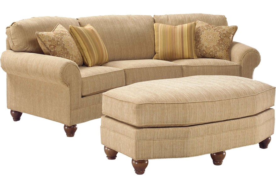 Curved Arch Sofa Belfort Furniture
