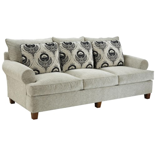 Fairfield 3778 Contemporary Sofa