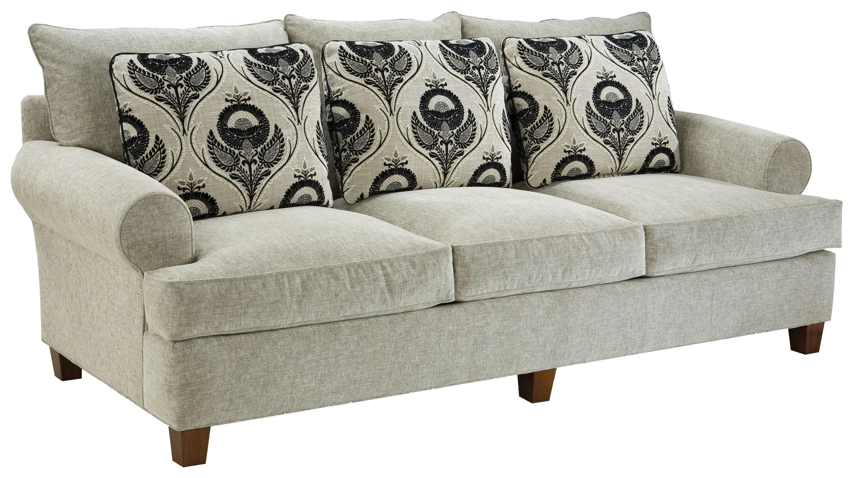 Fairfield 3778 Contemporary Sofa   Jacksonville Furniture Mart   Sofa
