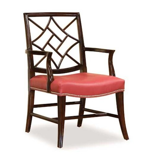 Fairfield 5460 Occasional Chair with Decorative Beading