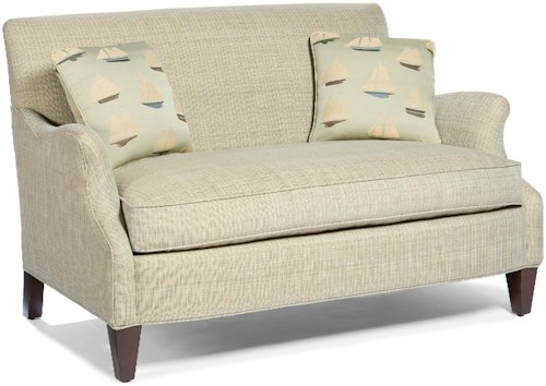 Fairfield 5706 Casual-Contemporary Stationary Loveseat