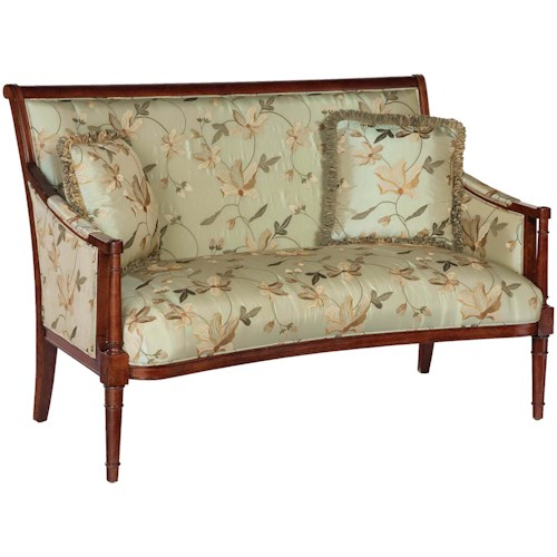 Fairfield 5719 Exposed Wood Settee