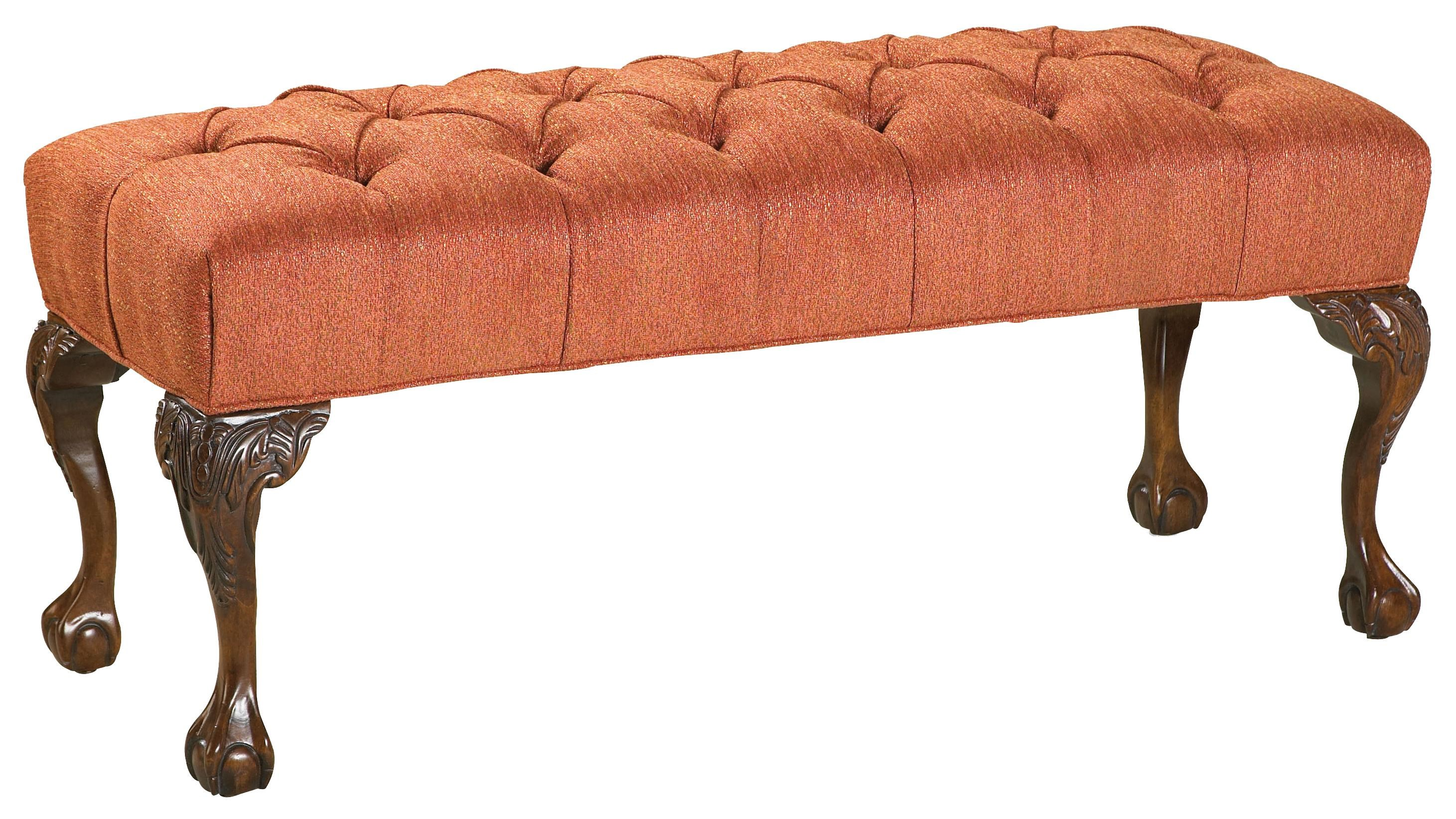 Fairfield Benches Victorian Tufted Seat Bench - Wayside ...