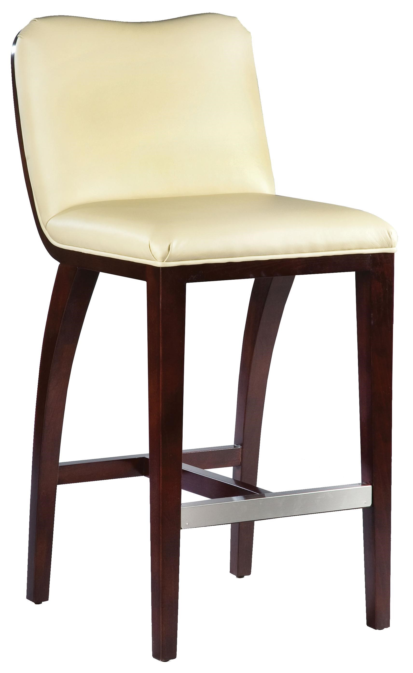 Fairfield Barstools High End Bar Stool With Wood Accents ...