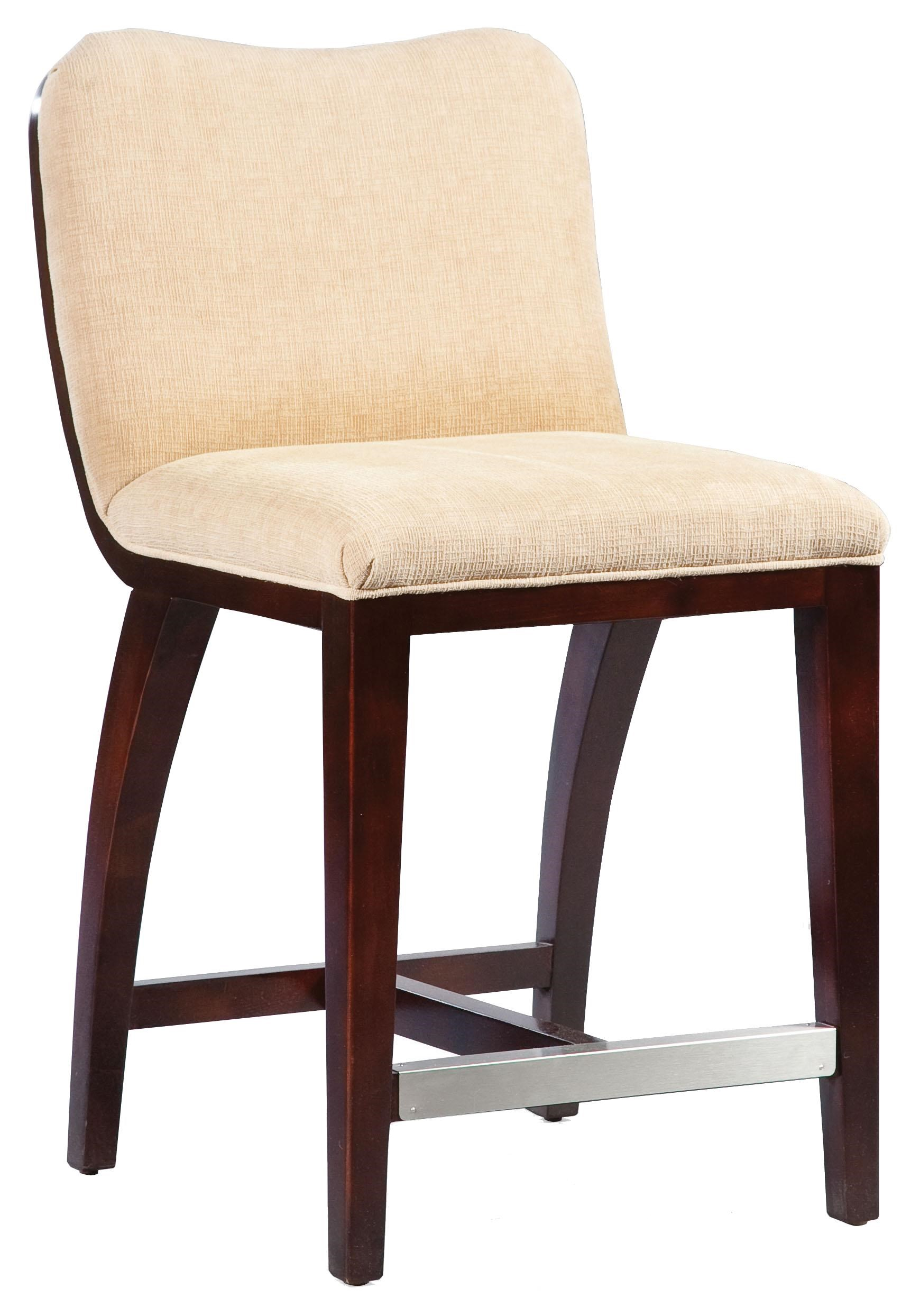 Fairfield BarstoolsHigh End Counter Stool With Wood Accents ...