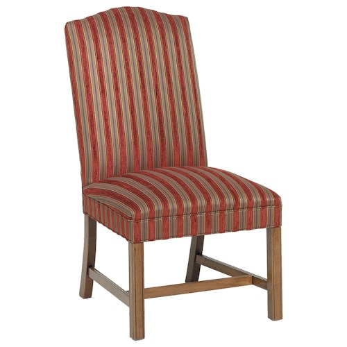 Fairfield Chairs Serene Exposed Wood Chair