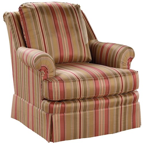 Fairfield Chairs Traditional Upholstered Lounge Chair