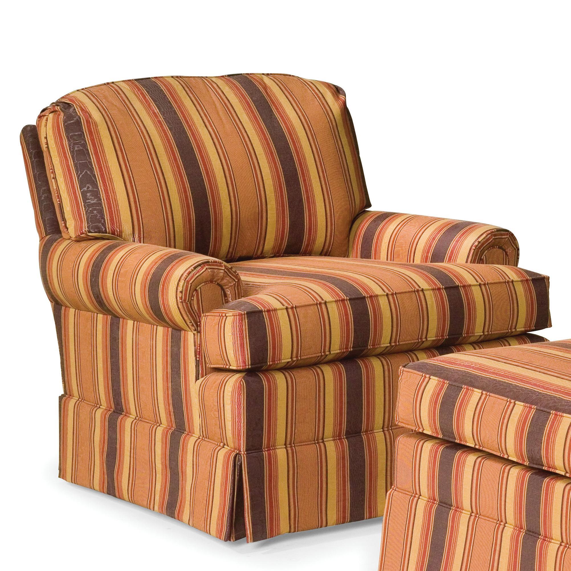 Fairfield Chairs Skirted Swivel Chair