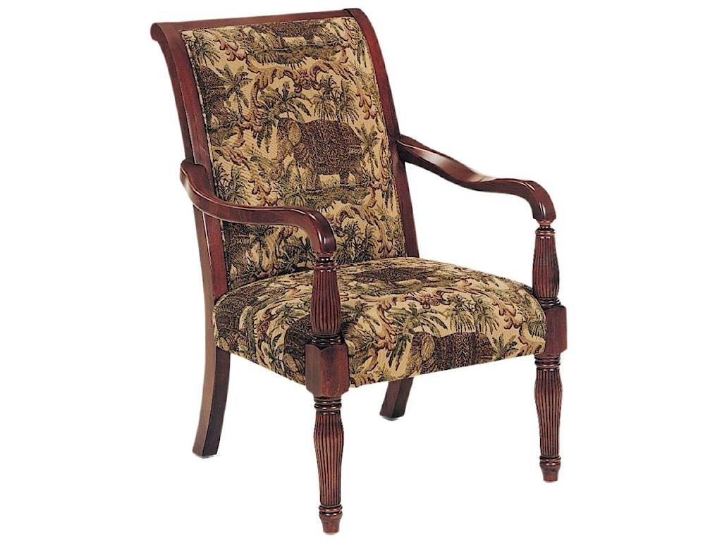 Fairfield ChairsExposed Wood Chair