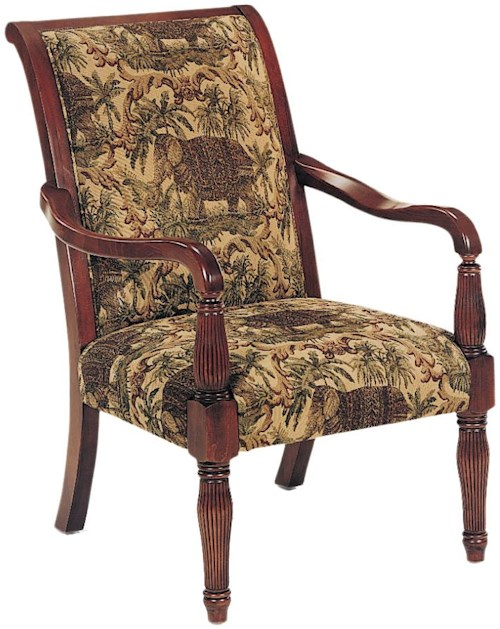 Exposed Wood Furniture ~ Fairfield chairs exposed wood chair with elegant