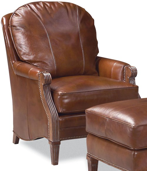 Fairfield Chairs Stationary Chair with Nailhead Trim