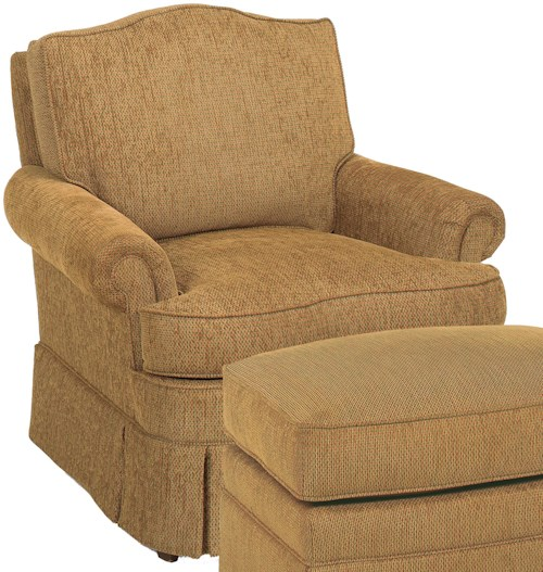 Fairfield Chairs Camel Back Lounge Chair