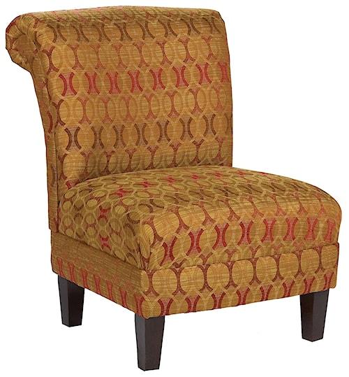 Fairfield Chairs Traditional Armless Lounge Chair
