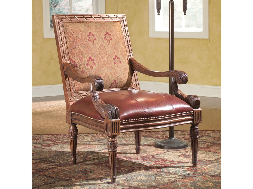 Fairfield ChairsCarved Accent Chair