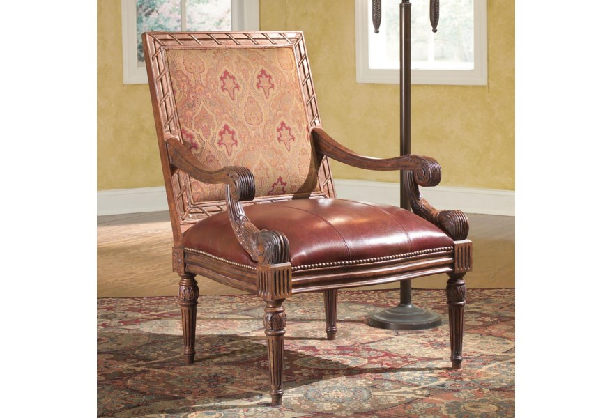 Sensational Fairfield Chairs Rustic Carved Accent Chair Moores Home Gmtry Best Dining Table And Chair Ideas Images Gmtryco