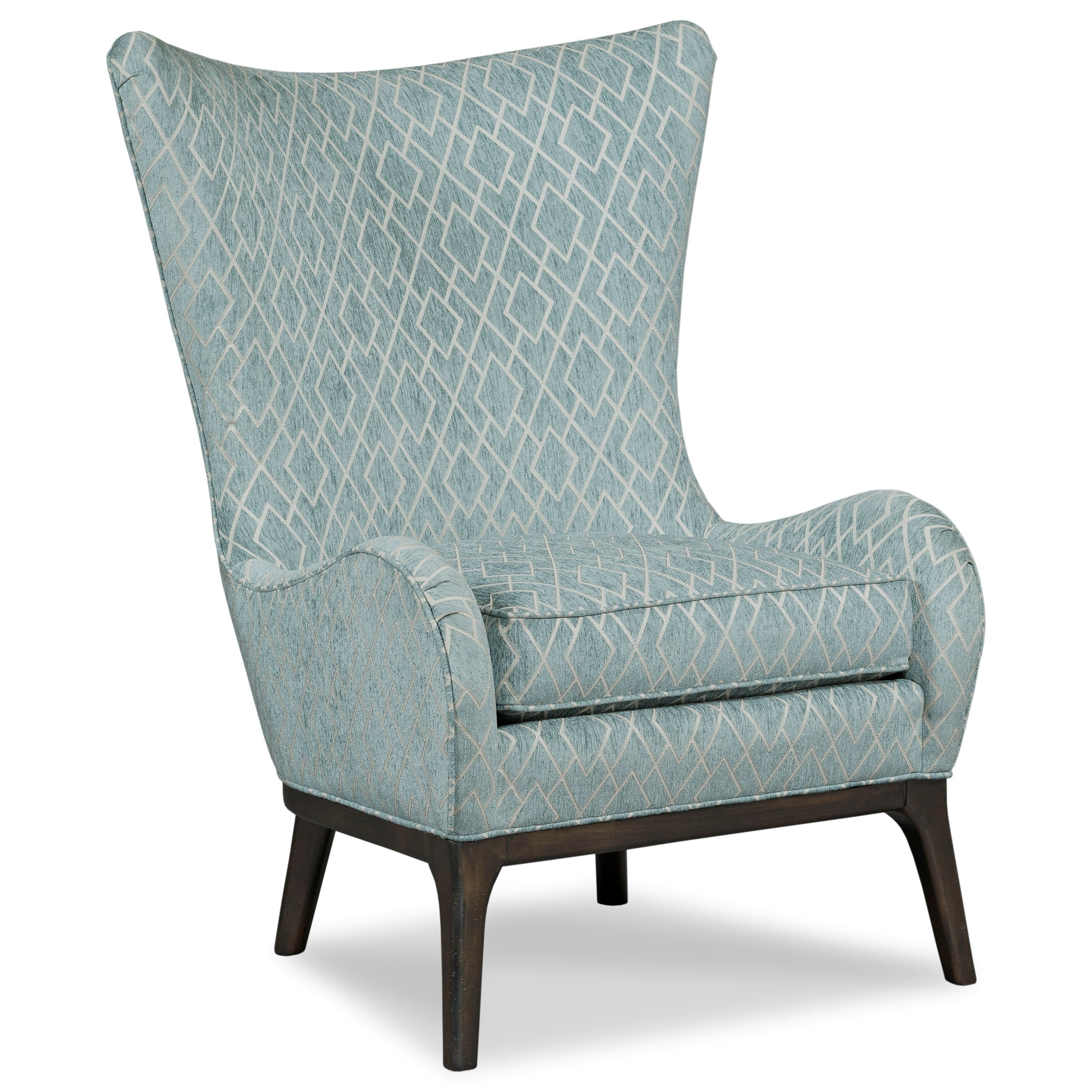 Charmant Chairs Contemporary Wingback Chair By Fairfield