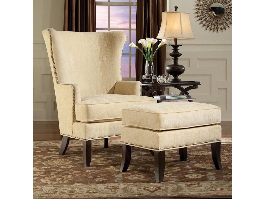 Fairfield ChairsContemporary Chair & Ottoman