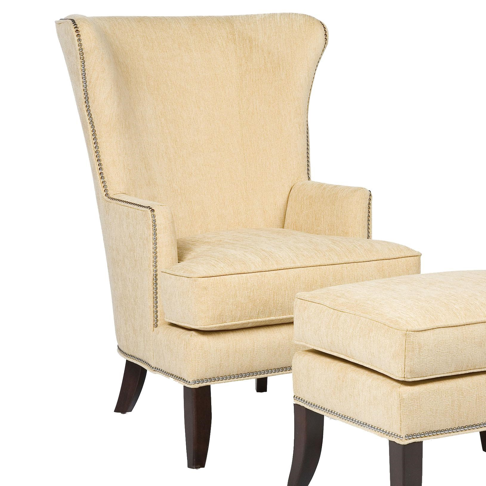 Genial Fairfield ChairsContemporary Wing Chair ...