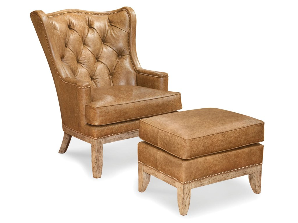 Shown With Coordinating Wing Chair