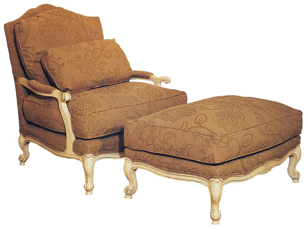 Fairfield ChairsVictorian Chair & Ottoman Set