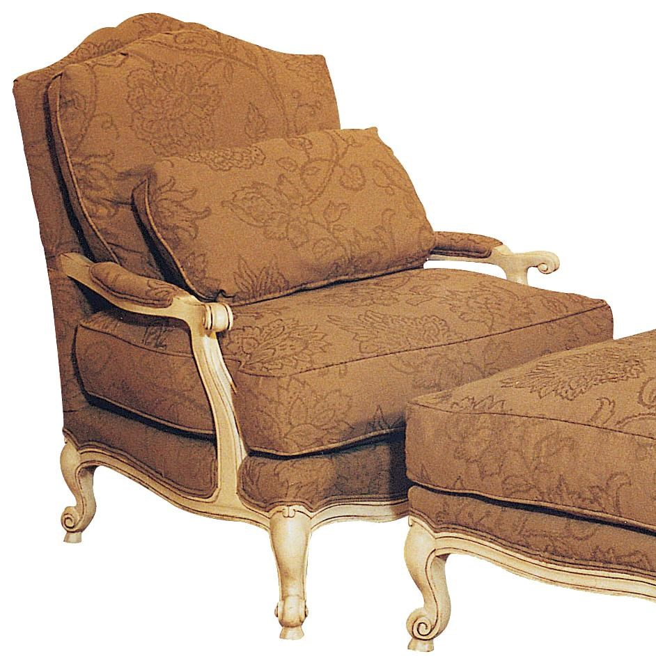 Fairfield Chairs Elegant Victorian Lounge Chair
