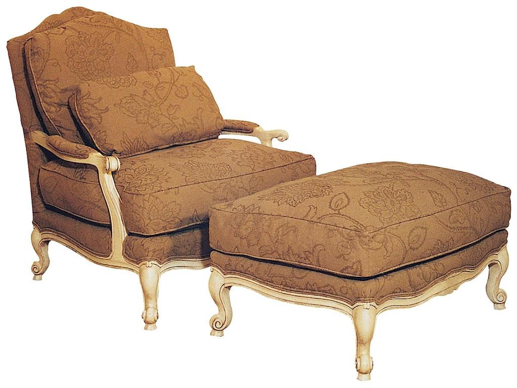 Fairfield ChairsVictorian Ottoman