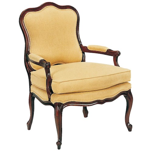 Fairfield Chairs Flowing, Exposed Wood Chair