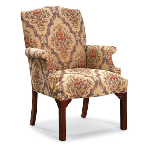 Fairfield Chairs Upholstered Occasional Chair with Rolled Arms