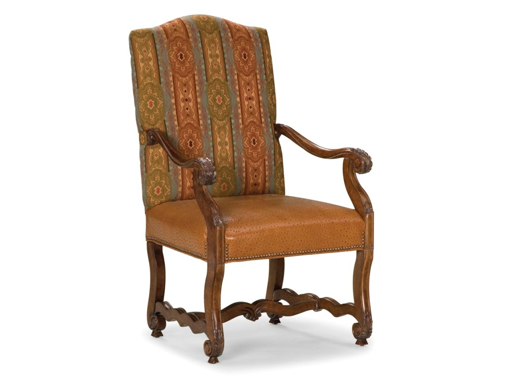 Fairfield ChairsExposed Wood Accent Chair