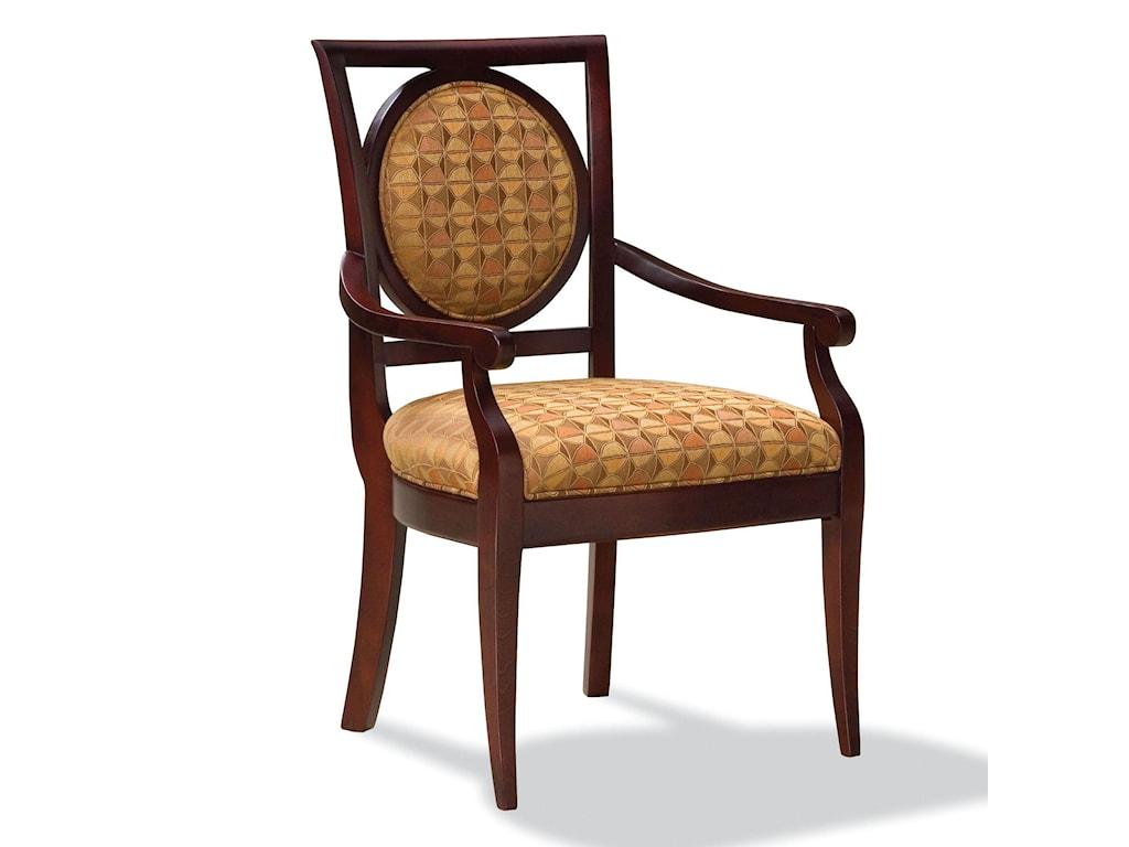 Fairfield ChairsExposed Wood Arm Chair