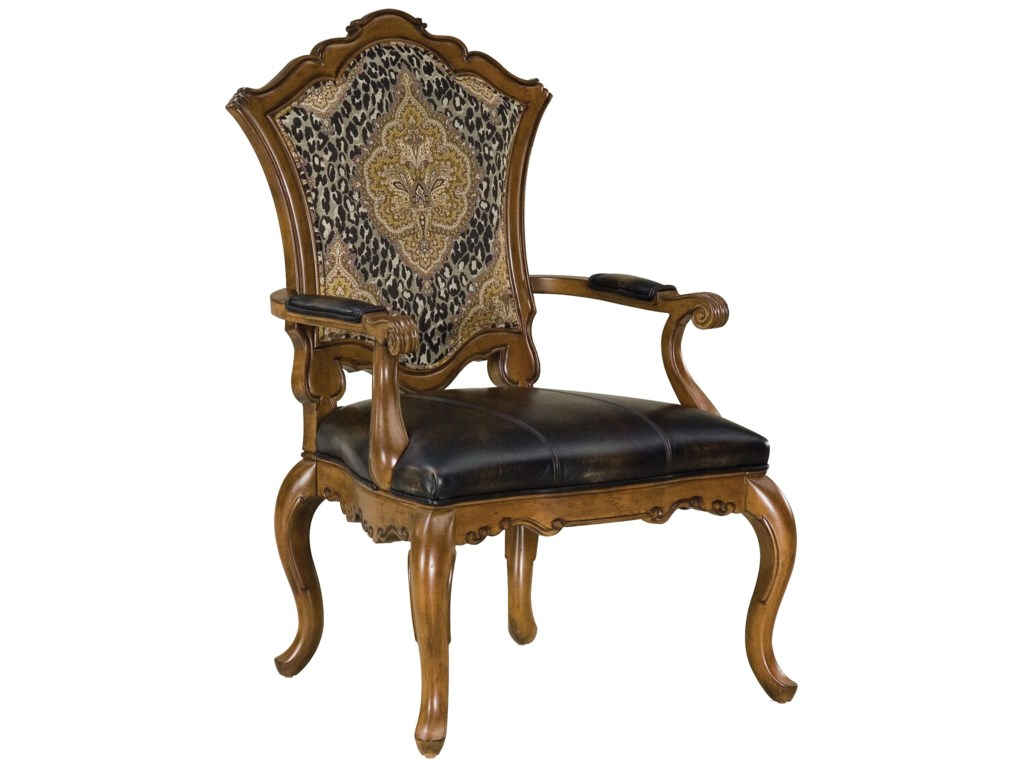 Fairfield Chairs Upholstered Victorian Carved Chair Olinde S