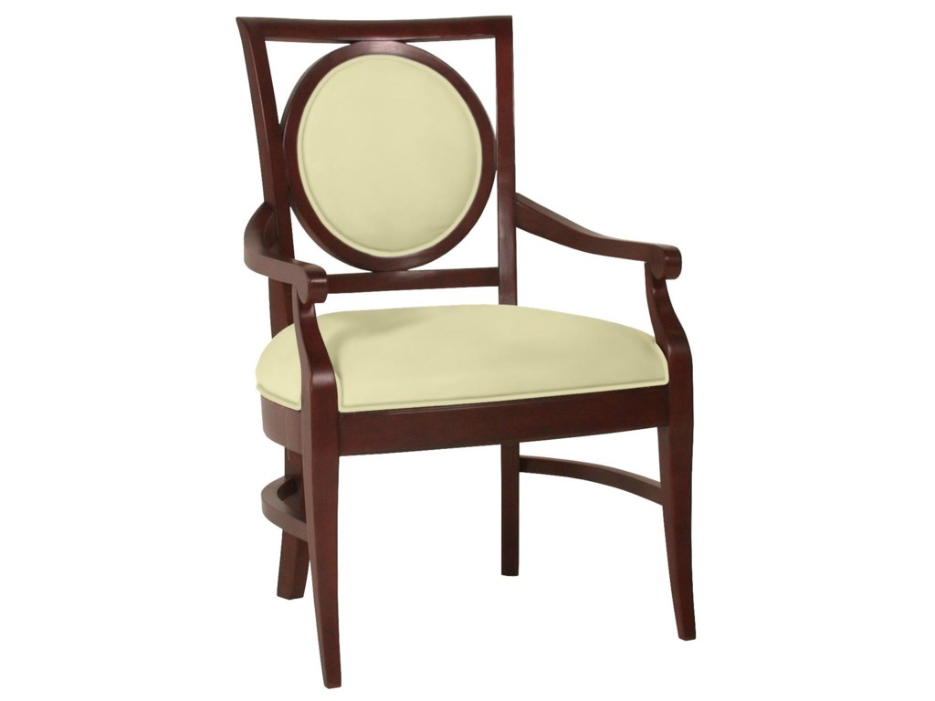 Fairfield ChairsCircle Back Arm Chair