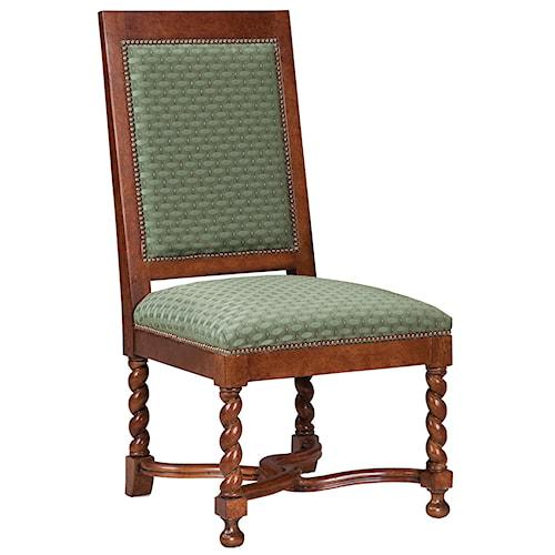 Fairfield Chairs Spiral Legged Occasional Side Chair