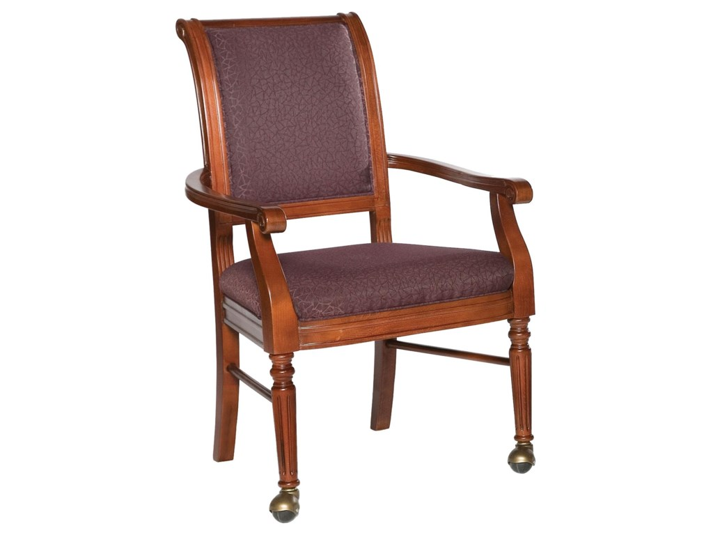 Fairfield ChairsPicture Frame Chair with Front Leg Casters