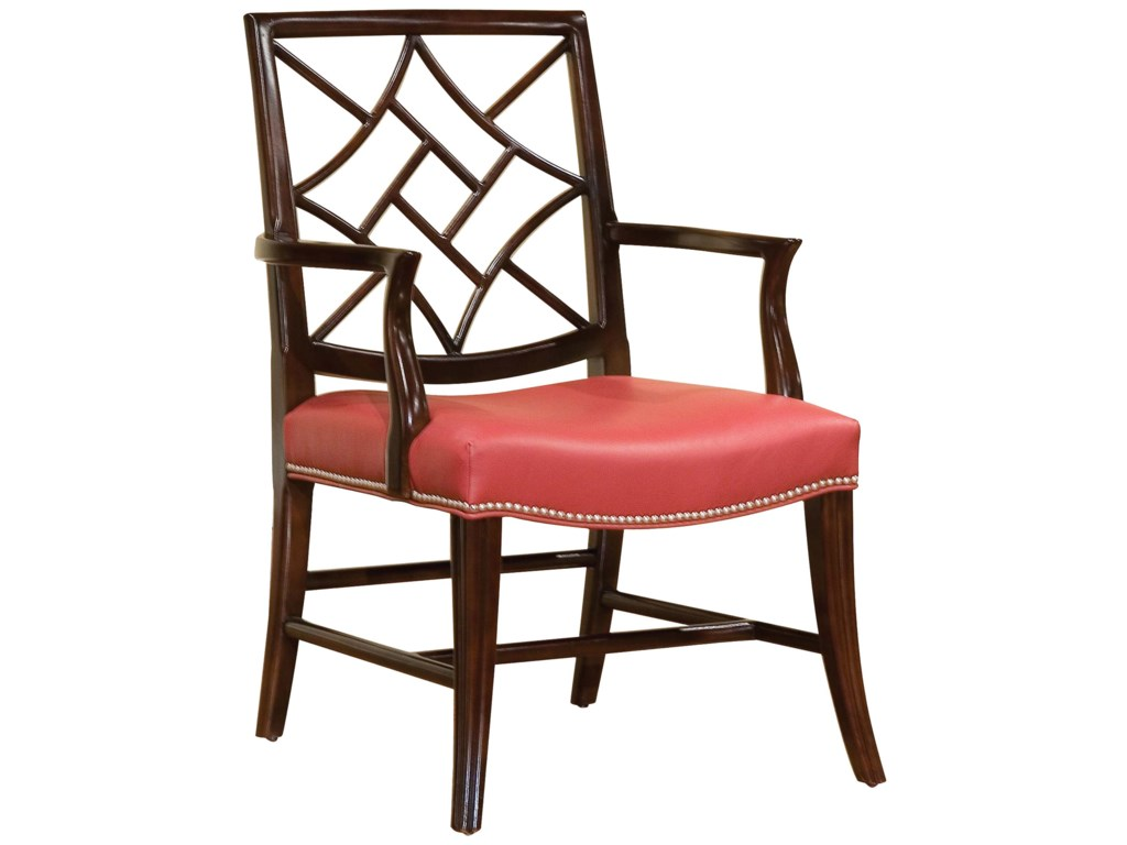 Fairfield ChairsChair with Elegant Back Cut-Out