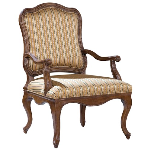 Fairfield Chairs Accent Chair with Smooth Curving Frame