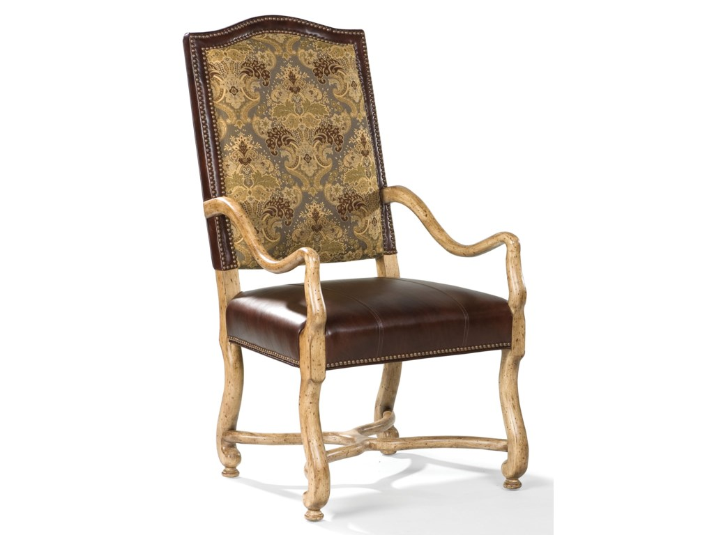 Fairfield ChairsExposed Wood Arm Chair