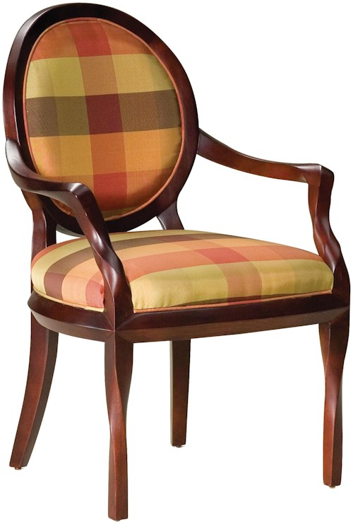 Fairfield Chairs Upholstered & Cut-Out Back Accent Chair