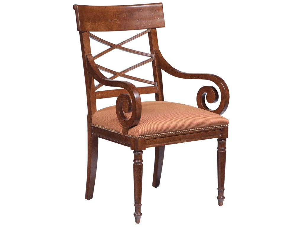 Fairfield ChairsScroll-Arm Chair