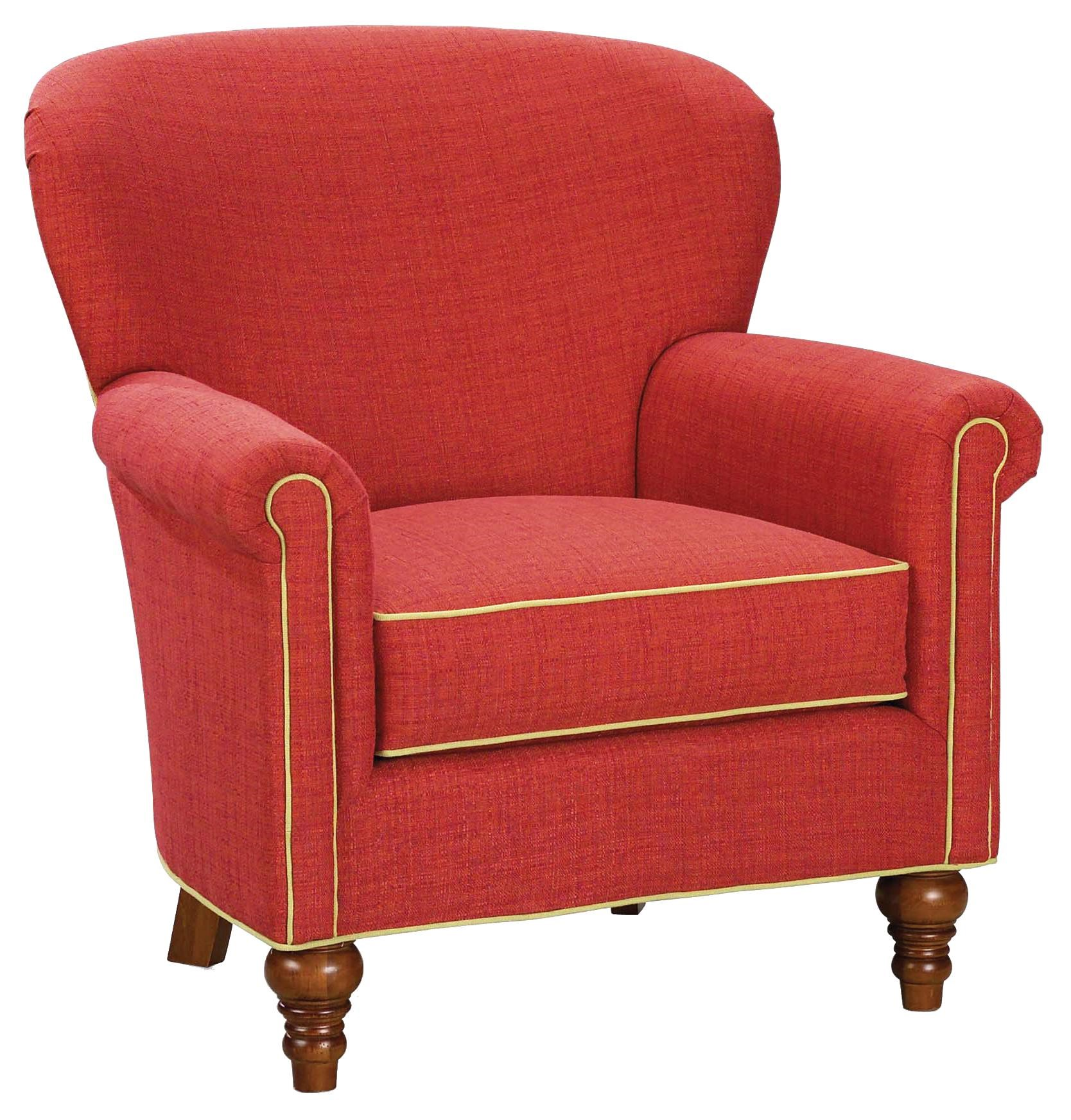 Chairs Contemporary Upholstered Chair By Fairfield
