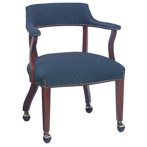 Fairfield Chairs Thin Back Caster Wheeled Chair