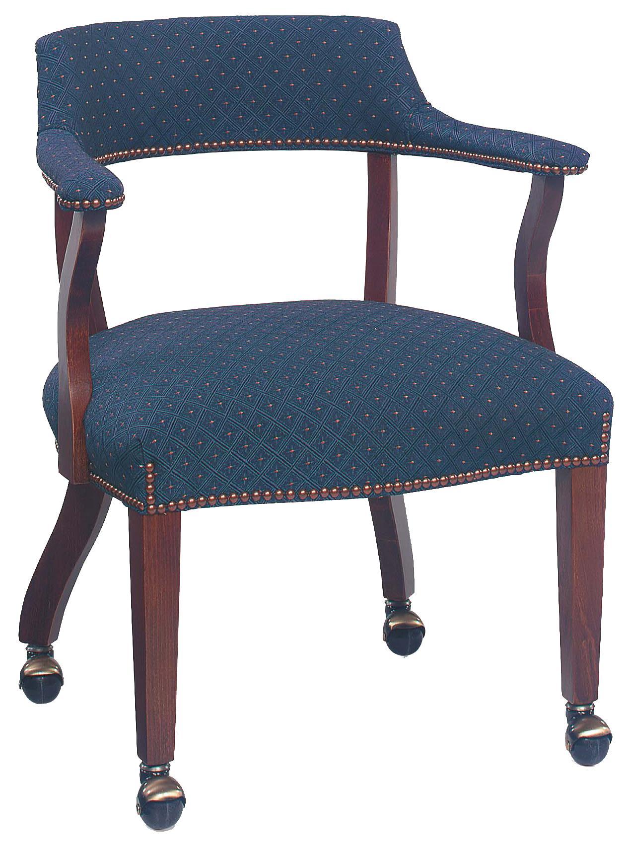Fairfield Chairs Thin Back Caster Wheeled Chair