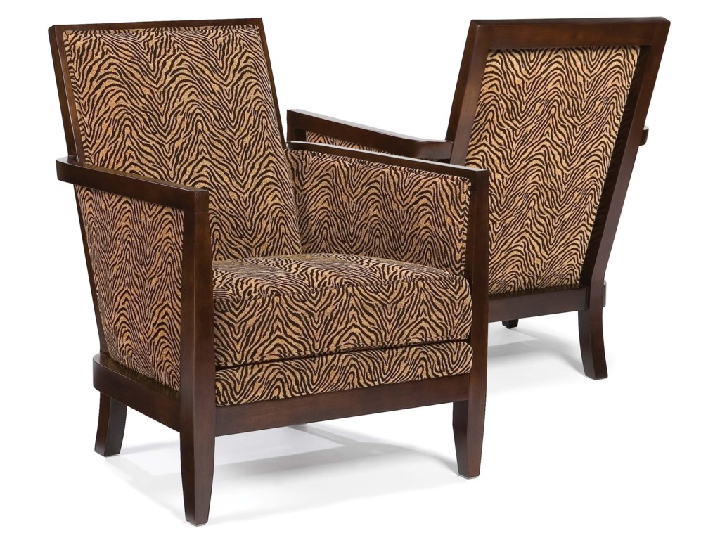 Fairfield ChairsGeometric Exposed-Wood Chair